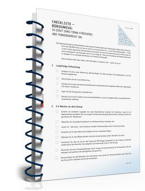 Checkliste Büroumzug - So zieht Ihre Firma stressfrei und termingerecht um