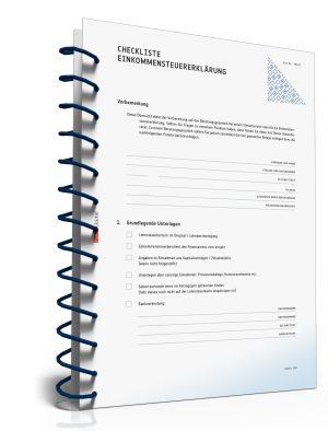 Checkliste zur Vorbereitung für ein Gespräch beim Steuerberater