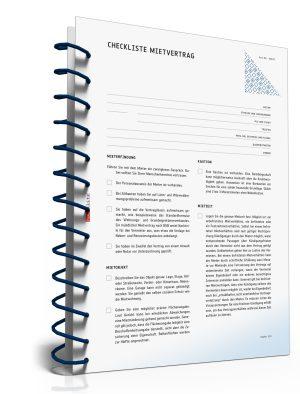 Checkliste für den Vermieter