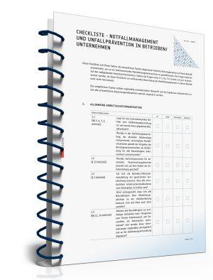 Checkliste: Notfallmanagement und Unfallprävention
