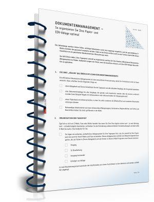 Checkliste Dokumentenmanagement