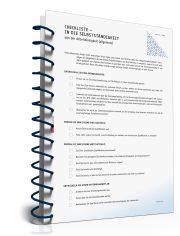 Checkliste für die Selbstständigkeit aus der Arbeitslosigkeit