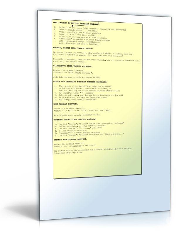 7 verschiedene Rechnungsvorlagen als Excel-Tabelle 1