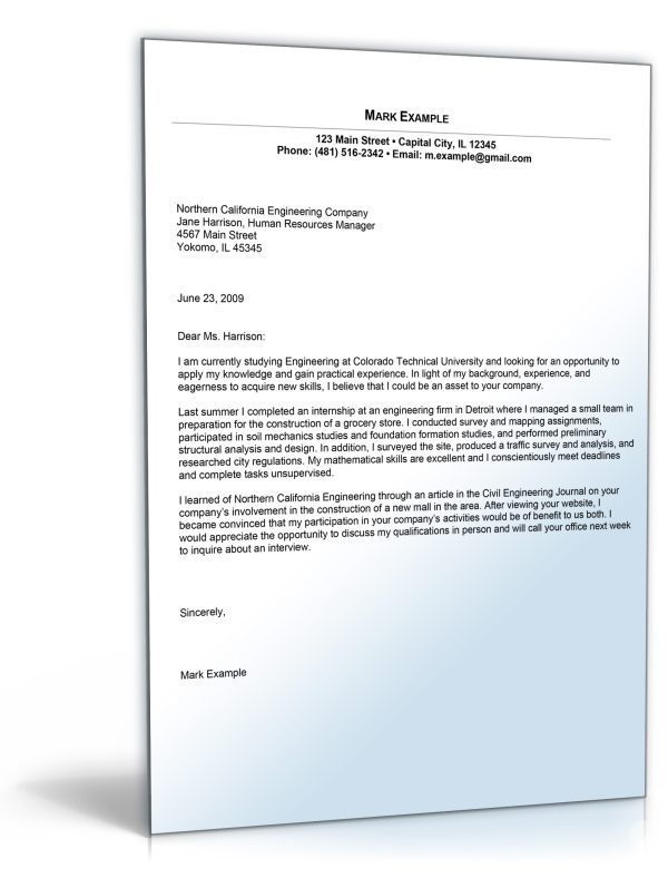 apprentice cover letter apprenticeship cover letter
