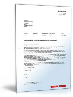 Einspruch gegen die Kürzung der Pendlerpauschale / Entfernungspauschale