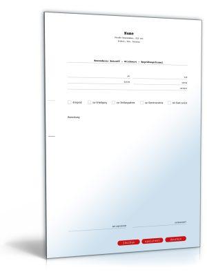 Faxvorlage (elegant)