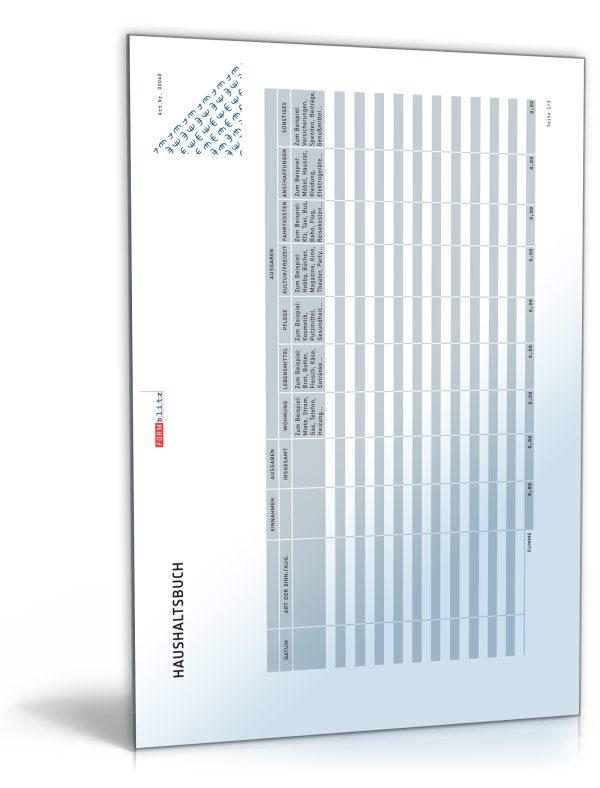 Haushaltsbuch 1