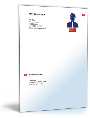 Lebenslauf (Maschinen- und Anlagenführer/-in)