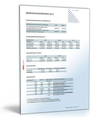 FORMBLITZ-Tabelle 2010 - 2013 - Sammlung diverser Pauschalsätze