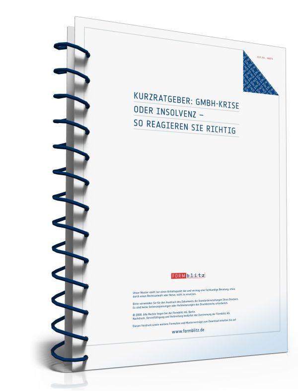 GmbH-Krise oder Insolvenz – so reagieren Sie richtig 1