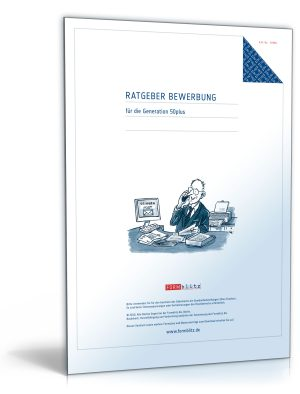 """FORMBLITZ Ratgeber: """"Bewerbung für die Generation 50plus"""""""