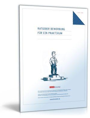 """FORMBLITZ Ratgeber: """"Bewerbung für ein Praktikum"""""""