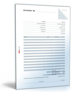 Rechnung brutto mit Überweisungsträger / Zahlschein