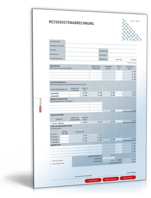 Reisekostenabrechnung 2006-2008 1