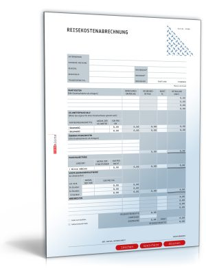 Reisekostenabrechnung 2011