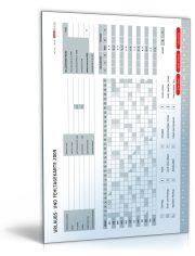 Urlaubs- und Fehltagekarte 2009